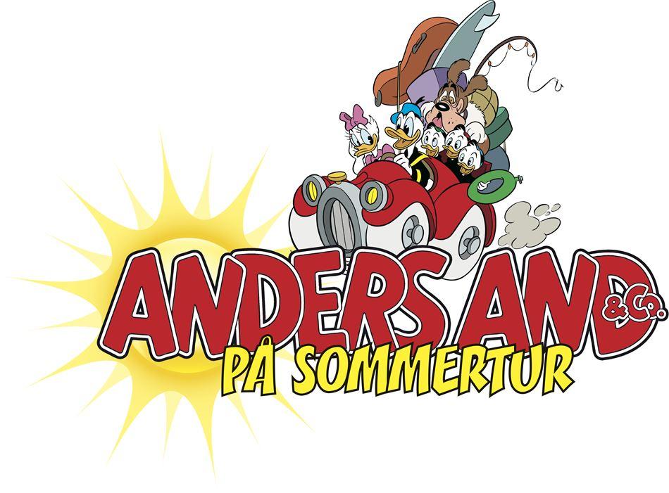 Anders And & Co på Sommertur
