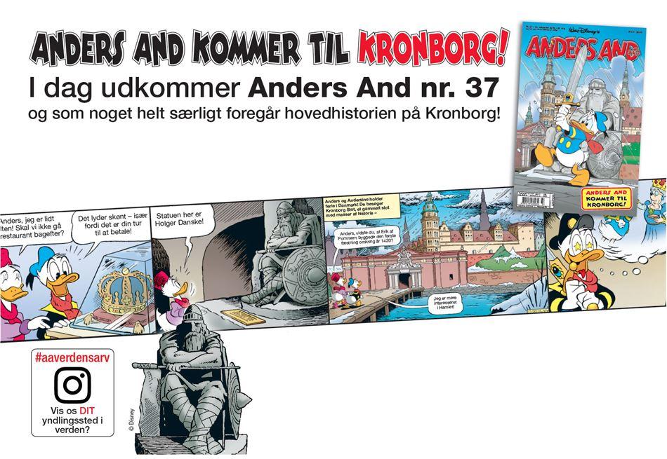 Anders And kommer til Kronborg