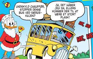 Undskyld chauffør, stopper denne bus ved færgekajen?