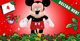 4. december • VIND 50 centimeter høj Mickey Mouse-bamse