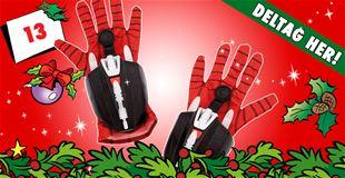 13. december • VIND Spider-Man-handsker med spindelvævsskydere.