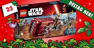 23. december • VIND: Star Wars Rey's Scooter