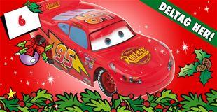 6. december • VIND Lynet McQueen-racerbil